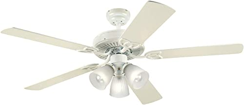Westinghouse Vintage 22.03 5 blade Indoor Antique White Ceiling Fan