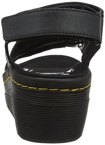 Black Womens Martens Sandals Verity Verity Womens Martens Leather Dr Dr Leather Sandals q7xPf704