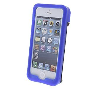Multifunction(Credit Card Holder+Opener+Stand) Plastic and Silicone Back Case for iPhone 5/5S(Assorted Color) , White