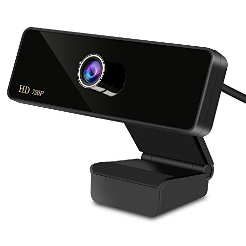 Aoleca Webcam USB Web Cam HD Web Camera with Microphone USB Plug and Play,Widescreen Video Calling Recording for PC Computer Laptop for MC, Windows , VISTA(Black)