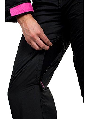 Tipsy Elves Women s Brand New Black Nightrun Retro Ski Suit - Old School  Snowsuit for Female 8ceafadcb