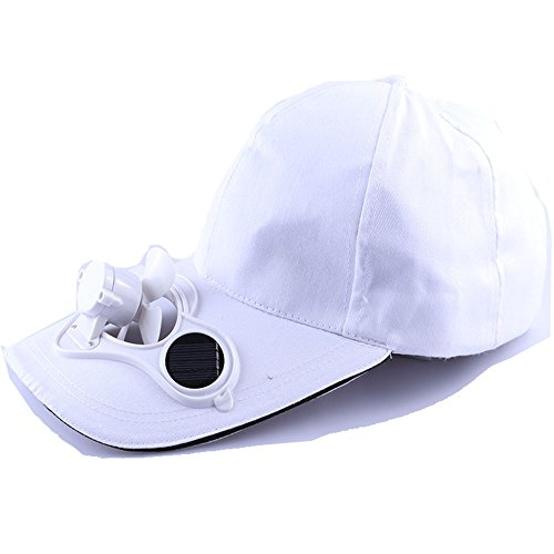 Price comparison product image bounnty Summer Outdoor Solar Sun Power Hat Cap Cooling Cool Fan