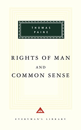 Book cover from Rights of Man and Common Sense (Everymans Library) by Thomas Paine