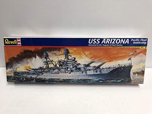 USS ARIZONA Pacific Fleet Battleship REVELL Model Kit 1/426 scale Memorial to the tragedy of Pearl Harbor (Fleet Battleship)