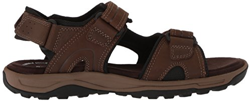 Rockport Mens Trail Teknik Velcro Sandal Sandal Brun