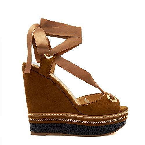 Automne Chaussures Beige Fermeture Éclair Bout Rond Des Femmes De Unze Londres KBYoe