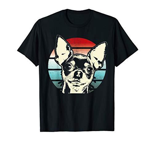 Retro Chihuahua T-Shirt Men Women Kids Gift