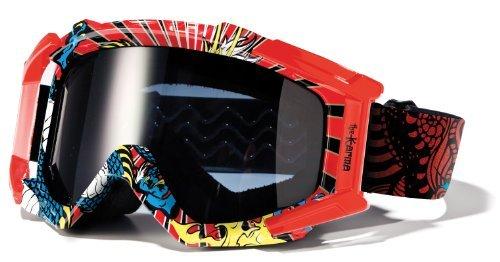 Blur Optics B-2 Karma Goggles - Red