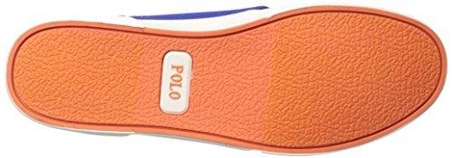 Polo Ralph Lauren Mens Faxon Maglia Bassa Moda Sneaker Maglia Ovale Reale