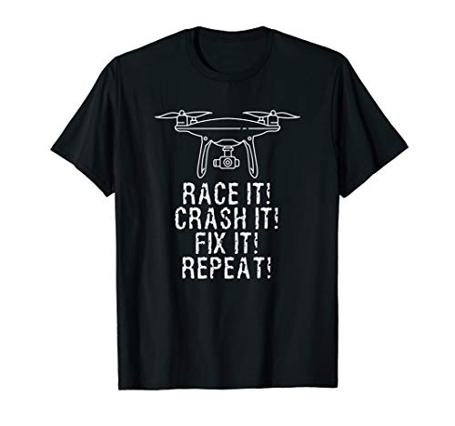Flying Quadcopter Camera Drones - Accessories Shirt