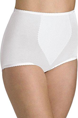 Bali Tummy Panel Brief Light Control 2-Pack_White/White_X-Large