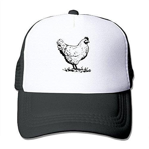 Men's Unisex Chicken Funny Mesh Rock Cap Summer Baseball Hats (Chicken Hats)