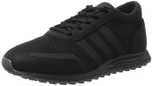 adidas Los Angeles, Scarpe da Ginnastica Basse Uomo Nero (Core Black/Core Black/Core Black)