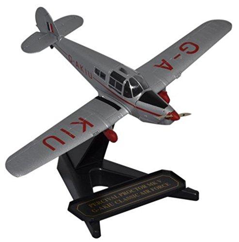 - Percival Proctor Mk.V G-AKIU Classic Air Force (Livery of British Air Attache Washington D.C. circa 1947-1950) (1:72); 72PP001