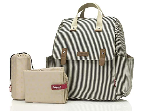 Babymel Robyn Convertible Baby Changing Backpack with Access