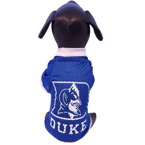 NCAA Duke Blue Devils Athletic Mesh Dog Jersey, Team Color, Small (Ncaa Dog Jersey Shirt)