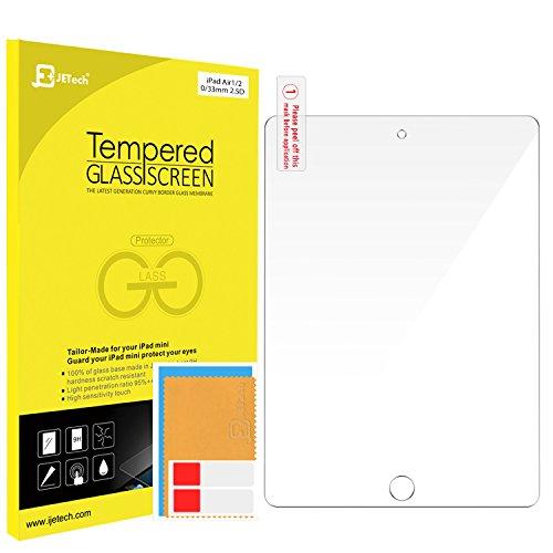 JETech iPad Air 1/2, iPad Pro 9.7 Gehärtetem Glas Panzersglas Premium Folien Schutzfolie Displayschutz Screen Protector