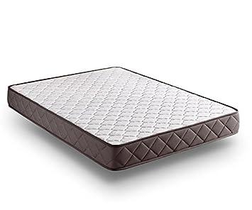 Zeng Visco Luxury Basic Viscoelástico, Algodón-Poliéster y Fibras TODOTHERM, Blanco, Cama 150/170 (King), 190x150x18 cm: Amazon.es: Hogar