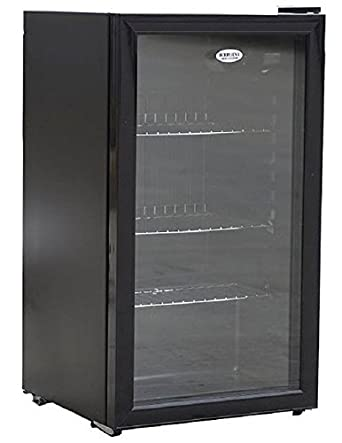Undercounter Chiller Cooler Fridge Black 88 Litre Capacity