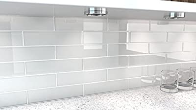 City Gray Glass Tile. Perfect for kitchens and bathrooms. from Bodesi - Mosaic and Glass Tile