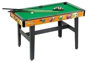 4Uniq Billardtisch Junior inkl. 2 Queues und Fangnetzen Pooltisch Billard Pool