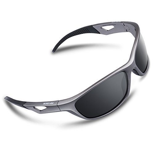 RIVBOS Polarized Sports Sunglasses Driving Sun Glasses for Men Women Tr 90 Unbreakable Frame for Cycling Baseball Running Rb831 - Dimensions Sunglass