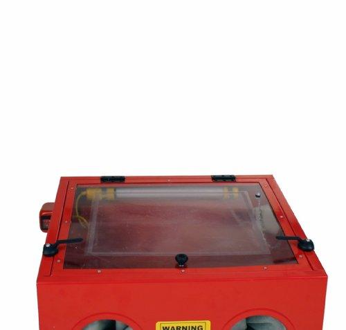 Dragway tools model 25 bench top sandblasting sandblast for Best spray gun for kitchen cabinets