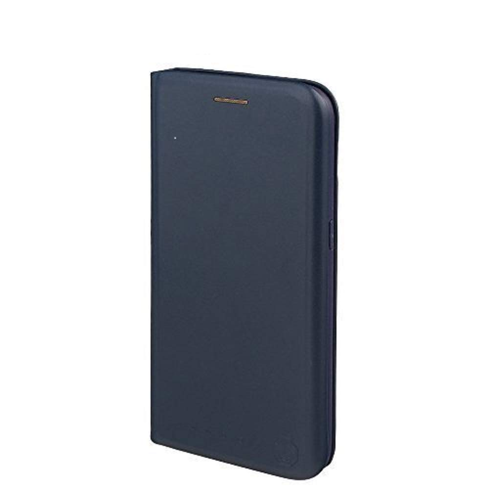 Nouske Samsung Galaxy S7 Wallet Case with Credit Card Holder and Stand Shockproof PU Leather Flip Bumper,Navy Blue by Nouske