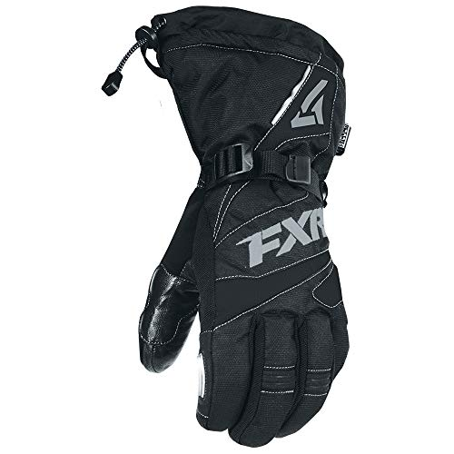 FXR - 2019 - Fuel Glove - (3X-Large, Black/Charcoal) (Fxr Snowmobile Gloves)