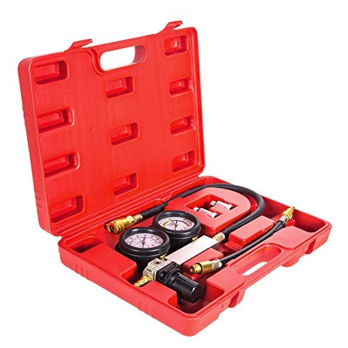 Compression Test Kit CylinderLeakage Leak Down Tester Petrol Engine Compression Leakage Leakdown Detector Kit