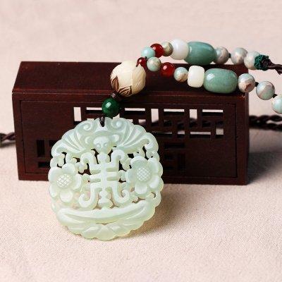Generic Japan Korea style fashion simple _double-sided_trend_wealth_ wedding Retro elegant tassel s_ pearl necklace Pendant women girl _beauty_Wei-Wei by Generic