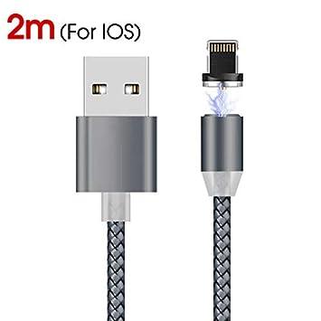 GerTong - Cable de Carga magnético, Micro USB, 2 m ...