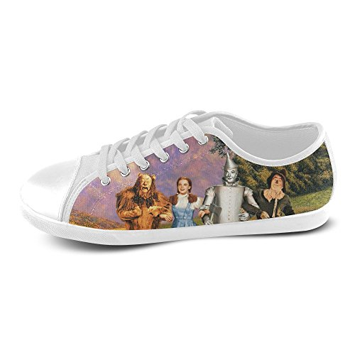 Show-shoes Custom The wizard of oz Lace-up Flats Canvas S...