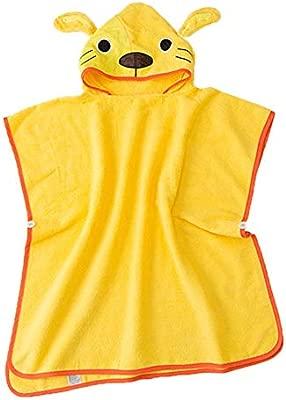 Animal Cartoon Baby Kid Hooded Bathrobe Toddler Bath Cute Swim Beach Towel