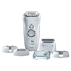 Braun Silk-épil 7 7-561 - Wet & Dry Cordless Electric Hair Removal Epilator, Ladies' Electric Shaver, and Bikini Trimmer for Women