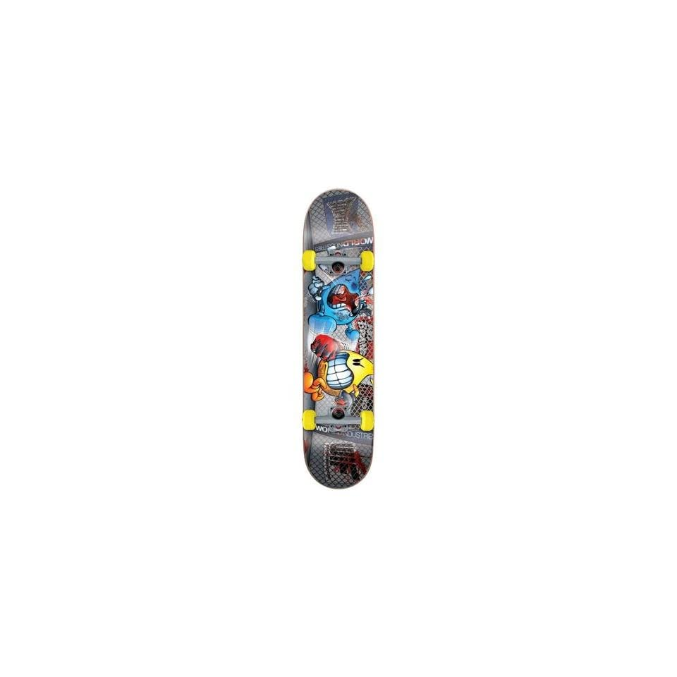 World Industries Lights Out Flameboy Mid Complete Skateboard   7.3 in