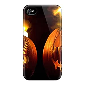 Cynthaskey VLQktoN1272VAEeY Case Cover Iphone 4/4s Protective Case Hot Halloween