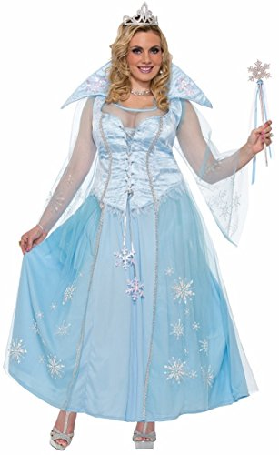 [Forum Women's Winter Princess Costume, Multi/Color, Plus] (Womens Costumes)