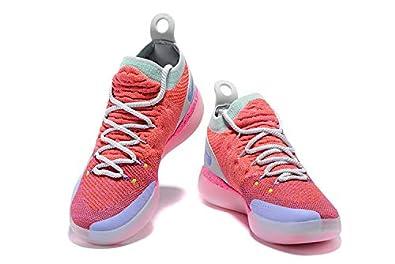 f9ba6576bc96 songmingjun Mens KD 11 Basketball Shoes Pink (41)