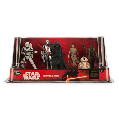 Star Wars The Force Awakens Figurine Playset 6 Piece Set