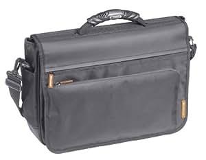 "Microsoft Impact Messenger Bag for 17.3"" Laptops (Orange Trim)"