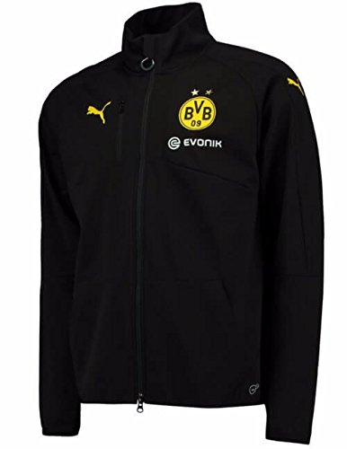 2016-2017 Borussia Dortmund Puma Softshell Training Jacket (Black)