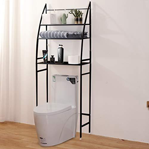 "Fit Right 3-Shelf Bathroom Organizer Over-The-Toilet Storage, Over Toilet Shelf, Over-Toilet Storage 27""L x 10""W x 66""H…"