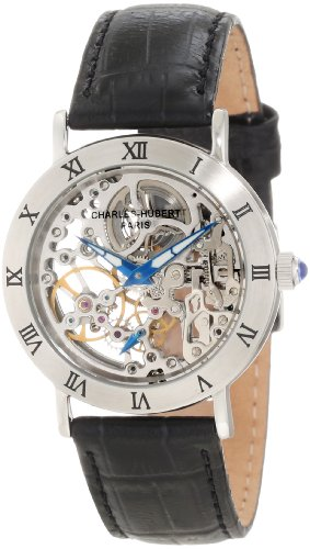 Charles-Hubert, Paris Women's 6790-B Premium Collection Stainless Steel Mechanical Watch