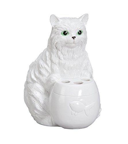 - Fox Valley Traders Playful Cat Toothbrush Holder