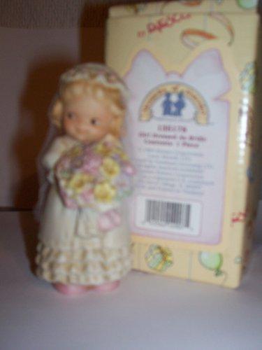 Memories of Yesterday Girl Dressed As Bride Figurine