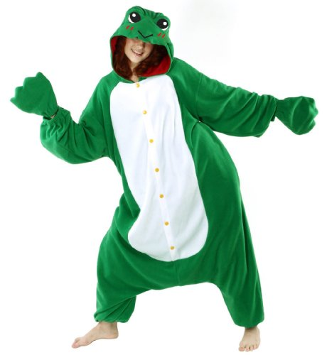 how to make a frog costume for adults