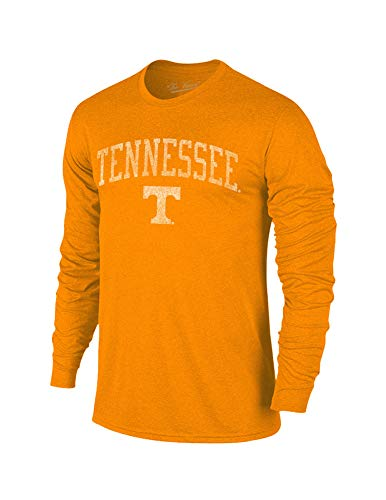 Long Volunteers Sleeve Tennessee (Elite Fan Shop Tennessee Volunteers Vintage Long Sleeve Tshirt Orange Victory - L)