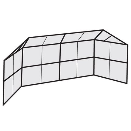 Chain Link Backstop with Prefabricated Panels by Athletic Connection
