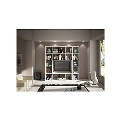 Librerie Mobili Componibili.Estea Mobili Libreria Parete Moderno Soggiorno Porta Tv
